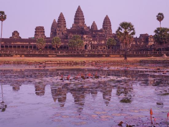 Angkor Wat, Angkor, Unesco World Heritage Site, Siem Reap, Cambodia, Indochina, Southeast Asia Asia-Jochen Schlenker-Photographic Print