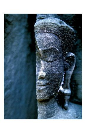 Angkor Wat Face, Cambodia-Charles Glover-Giclee Print