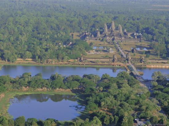 Angkor Wat, Siem Reap, Cambodia, Indochina, Asia-Bruno Morandi-Photographic Print