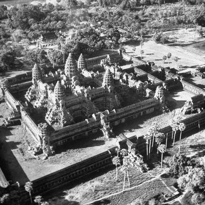 Angkor Wat, the Great Ancient Buddhist Temple of the Khmers--Photographic Print