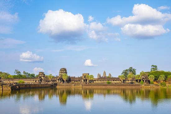 Angkor Wat, UNESCO World Heritage Site, Siem Reap Province, Cambodia, Indochina-Jason Langley-Photographic Print