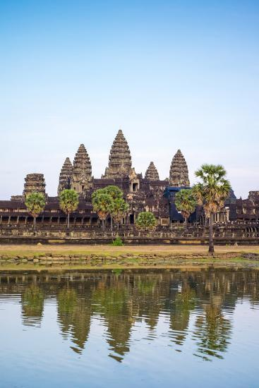 Angkor Wat, UNESCO World Heritage Site, Siem Reap Province, Cambodia, Indochina-Jason Langley-Photographic Print