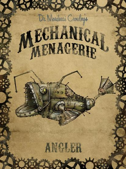 Angler-Michael Murdock-Giclee Print