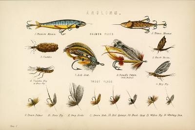 Angling-English School-Giclee Print