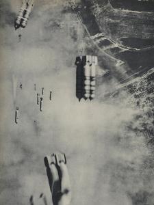 Anglo-American Incendiary Bombs Fall on Hamburg, 1942-45