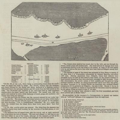 Anglo-French Blockade of the Rio De La Plata--Giclee Print