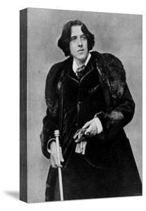 Anglo Irish Playwright Oscar Wilde at the Time of His Lecture Tour in America