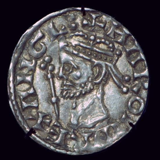 Anglo-Saxon Silver Penny of Harold II. Artist: Unknown-Unknown-Giclee Print