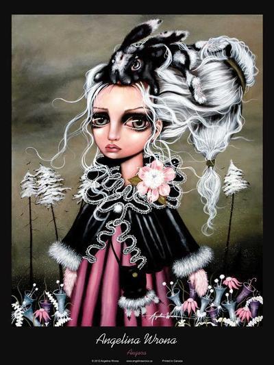 Angora-Angelina Wrona-Art Print