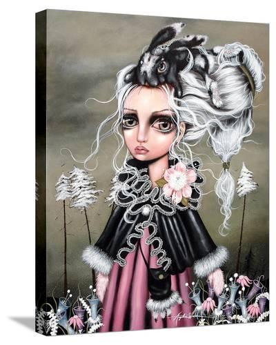 Angora-Angelina Wrona-Stretched Canvas Print