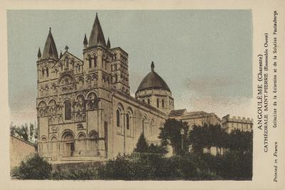 Angouleme, Charente, Cathedrale Saint-Pierre--Giclee Print