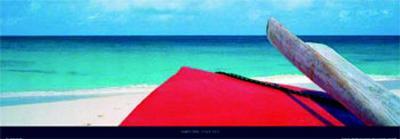 Anguilla-James Red-Art Print