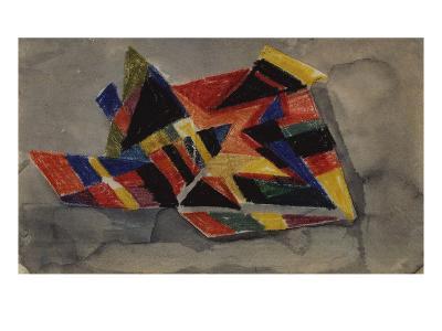 Angular Forms; Winklige Formen-Auguste Macke-Giclee Print