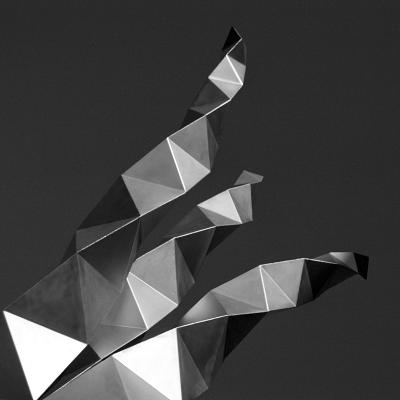 Angular Offshoot-Tony Koukos-Giclee Print