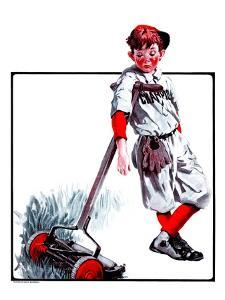 """Cut Grass or Play Baseball?,""August 30, 1924 by Angus MacDonall"