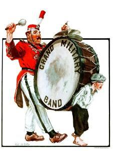 """Grand Military Band,""June 23, 1923 by Angus MacDonall"