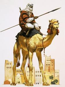 Arab on Camel by Angus Mcbride