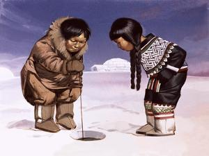 Children from Greenland by Angus Mcbride