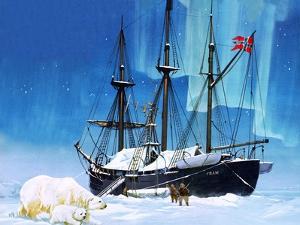 Fridtjof Nansen and the Fram by Angus Mcbride