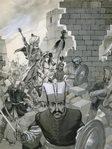 The Fall of Constantinople, 1453 by Angus Mcbride