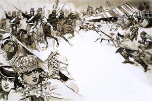 The French Invade Algeria by Angus Mcbride