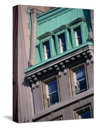 Apartment Buildings Facade on Upper East Side, New York City, New York, USA