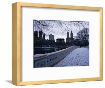 Central Park in Winter, New York City, New York, USA