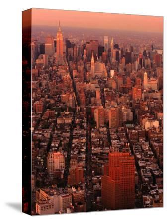 Cityscape from World Trade Center, New York City, New York, USA