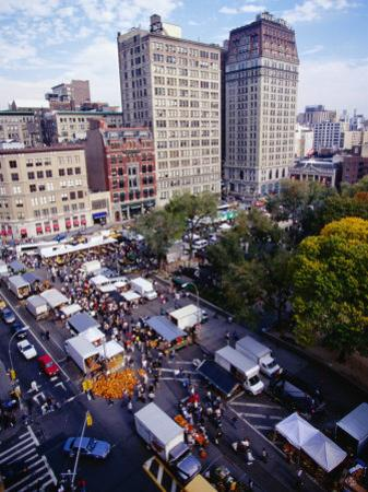 Farmers' Market on Union Square, New York City, New York, USA