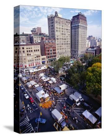 Farmers' Market on Union Square, New York City, New York, USA