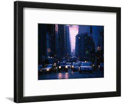 Traffic on 5th Avenue, New York City, New York, USA