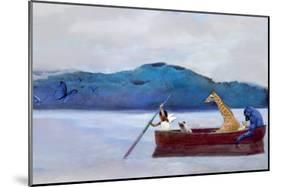 Animal Canoe-Nancy Tillman-Mounted Art Print