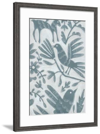 Animal Fair II-Chariklia Zarris-Framed Art Print