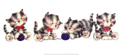 Animal Fun time III-Makiko-Art Print