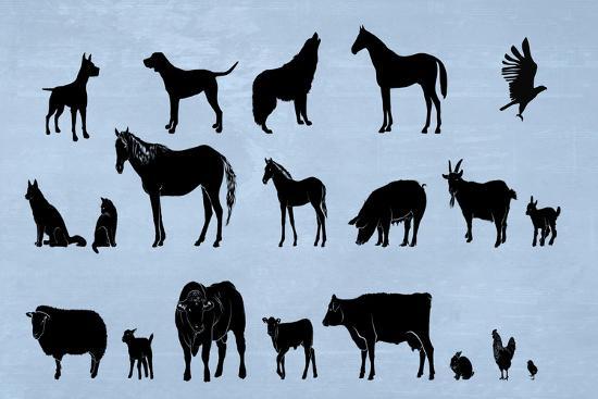 Animal Kingdom-Ata Alishahi-Giclee Print