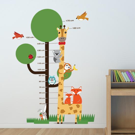 Animal Measurement Chart--Wall Decal