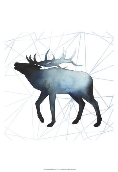 Animal Silhouettes VI-Grace Popp-Art Print