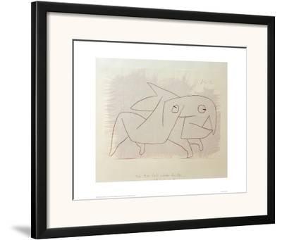 Animal Soon to be Merry Again-Paul Klee-Framed Giclee Print