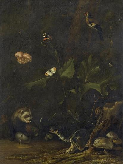 Animals and Plants-Anthonie Van Borssom-Art Print