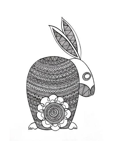 Animals Bunny-Neeti Goswami-Art Print