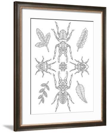 Animals Lovers 23-Filippo Cardu-Framed Giclee Print