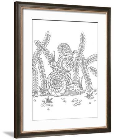 Animals Lovers 8-Filippo Cardu-Framed Giclee Print
