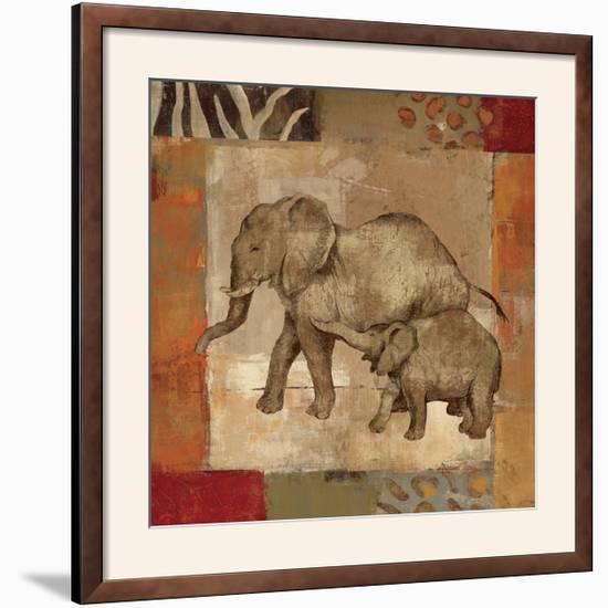 Animals on Safari III-Silvia Vassileva-Framed Photographic Print