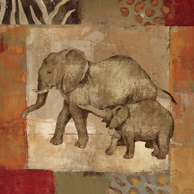 Animals on Safari III-Silvia Vassileva-Art Print
