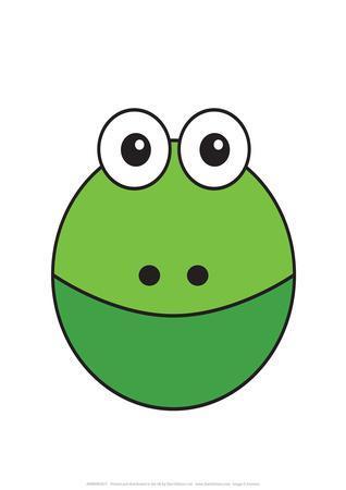 Frog - Animaru Cartoon Animal Print