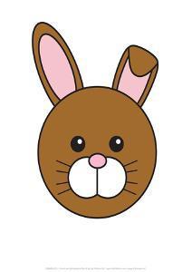 Rabbit - Animaru Cartoon Animal Print by Animaru