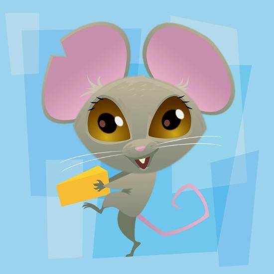 Anime Mouse-Harry Briggs-Giclee Print