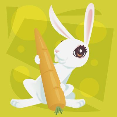 Anime Rabbit-Harry Briggs-Giclee Print