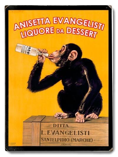 Anisetta Evangelisti--Wood Sign