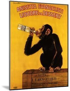 Anissetta Evangelisti, Liquore Da Dessert